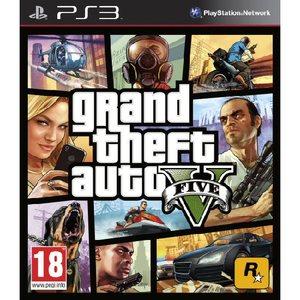 PS3 Grand Theft Auto V