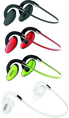 אוזניות בלוטוס CORAL EXTREME ספורט וריצה