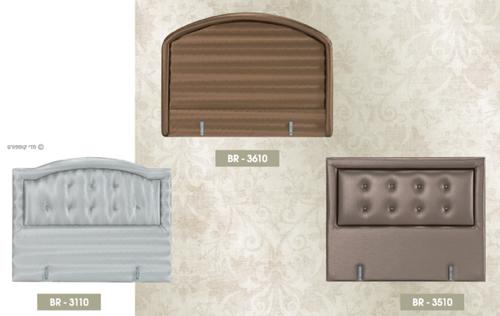 מיטה זוגית מרופדת + ראש מיטה דגם 2020
