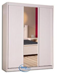 ארון בגדים עם 3 דלתות הזזה ומראה דגם טנריף