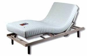 מיטה מתכווננת מבית סילי הכוללת מנגנון מתכוונן חשמלי+מזרן לטקס טבעי מלא