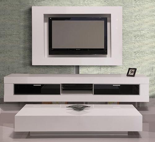 מזנון תלוי + שולחן סלון + מסגרת לטלויזיה מדגם בר בעיצוב מודרני מבית KHL