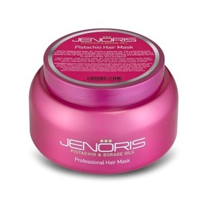 "מסכת ג'נוריס 500 מ""ל JENORIS Pistachio Hair Mask"
