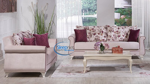סלון BELISSA הכולל ספה תלת מושבית וספה דו מושבית Bellona