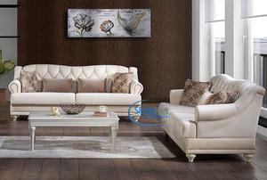 סלון VELLA הכולל ספה תלת מושבית וספה דו מושבית Bellona