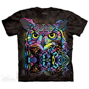 The Mountain חולצה קצרה בהדפס מלא - Russo Owl