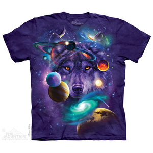 The Mountain חולצה קצרה בהדפס מלא - Wolf of the Cosmos