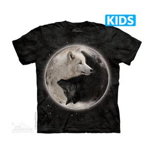 The Mountain חולצה קצרה בהדפס מלא - Yin Yang Wolves Kids