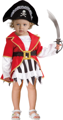 תחפושת פיראטית בייבי Baby Pirate Costume
