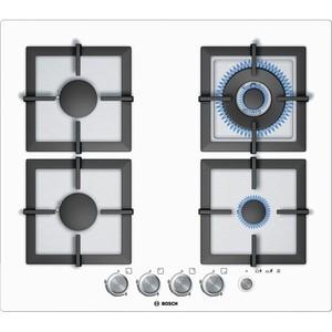 """כיריים גז 60 ס""""מ זכוכית לבנה בוש BOSCH דגם:PPH612M21Y"""