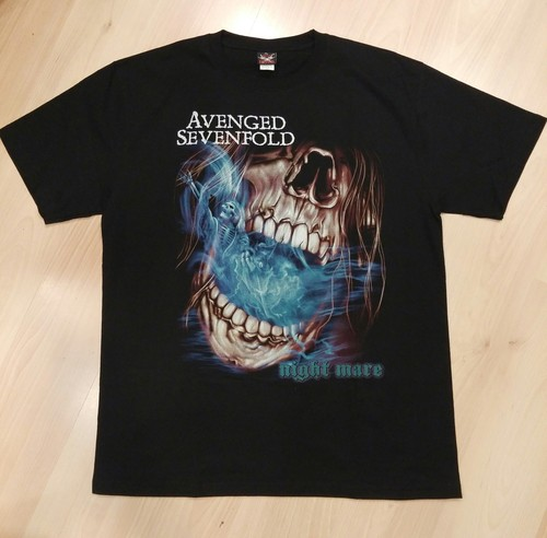 Avenged Sevenfold חולצה קצרה - Nightmare Skull