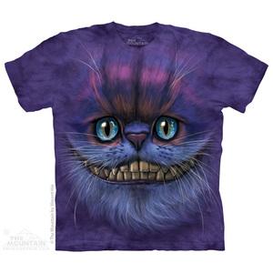 The Mountain חולצה קצרה בהדפס מלא - Big Face Cheshire Cat