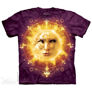 The Mountain חולצה קצרה בהדפס מלא - Sun Face Fantasy