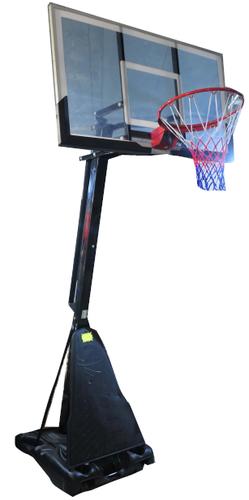 עמוד כדורסל SBA027-איכותי ביותר-מתכוונן 230/305 לוח 142/80