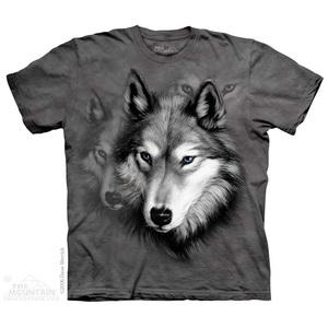 The Mountain חולצה קצרה בהדפס מלא - Wolf Portrait