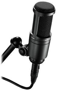 מיקרופון קונדנסר אודיו טכניקה AUDIO TECHNICA AT2020