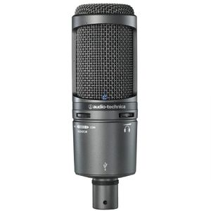 מיקרופון קונדנסר AUDIO TECHNICA  AT2020USB+ Cardioid Condenser