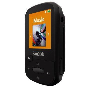 נגן SanDisk CLIP SPORT במגוון נפחי אחסון
