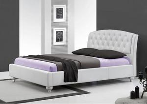 מיטה זוגית מבית GAROX דגם CAMELIA בעיצוב איטלקי מעור אמיתי