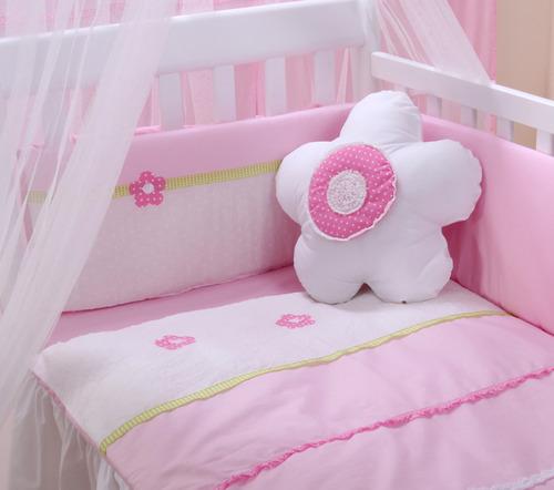 סט מצעים אביב למיטת תינוק