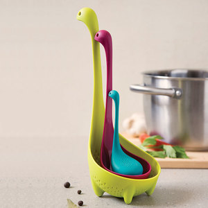 The Nessie Family משפחת נסי - כף מסננת, מצקת ומסננת תה