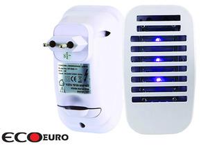קטלן יתושים LED חשמלי 1W משולב תאורת לילה, לנטרול חרקים מעופפים כגון יתושים, זבובים ועוד...