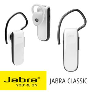 אוזניית Bluetooth אישית Jabra Classic - צבע לבן