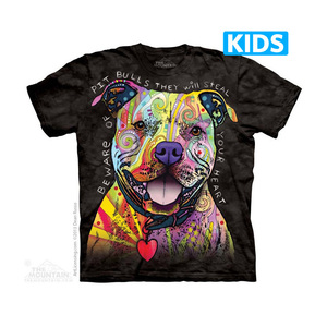 The Mountain חולצה קצרה בהדפס מלא - Beware Of Pit Bulls Kids