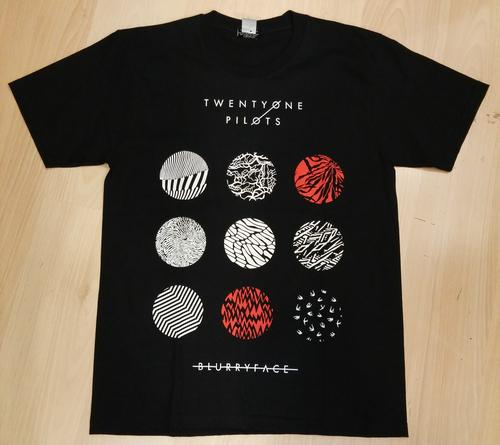Twenty One Pilots חולצה קצרה - Blurryface