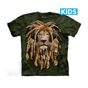 The Mountain חולצה קצרה בהדפס מלא - DJ Jahman Kids