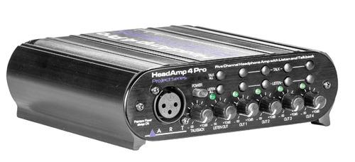 HeadAmp4Pro מגבר אוזניות מיקצועי לאולפן