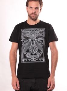 PlazmaLab short sleeves T- shirt - Queen B Black