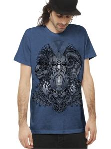 PlazmaLab short sleeves T- shirt - Mad World IC Blue