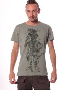 PlazmaLab short sleeves T- shirt - Hunter Green