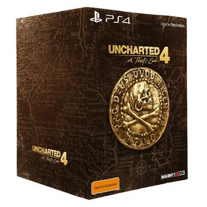 PS4 Uncharted 4 A Thief's End Collectors Edition