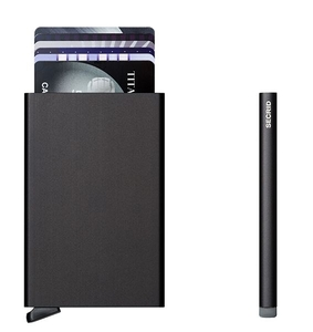 ארנק Secrid כרטיס נשלף Card Protector שחור