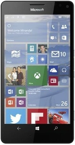 Microsoft Lumia 950XL מכשיר מתצוגה