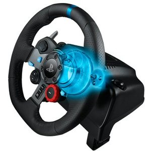 הגה מרוצים LogiTech Driving Force G29