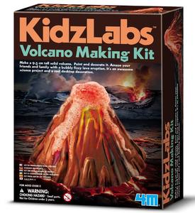ערכה ליצירת הר געש וולקני - משחקי מדע