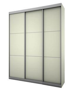 מבצע:ארון הזזה 3 דלתות SILVER 180