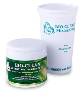 ביוקלין בקטריות - 300 גרם - להסרת סתימות ומניעת ריחות רעים