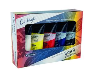 שמינקה | סט צבעי הדפס קולג' 5 שפורפרות
