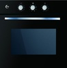 """תנור אפיה בנוי עם טורבו שחור זכוכית  EB56-ECA זק""""ש  Zaksh"""