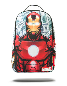 Sprayground Backpack תיק גב - Marvel Iron Man Money
