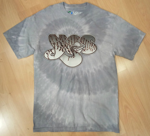 Yes חולצה קצרה בהדפס מלא - Spiral Tie Dye