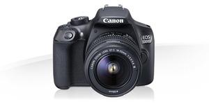 Canon EOS 1300D + 18-55-קרט קנון