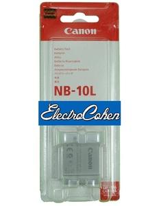 סוללה מקורית למצלמה Canon NB10L קנון