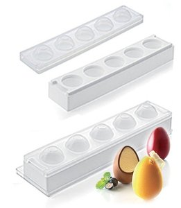 """תבנית סילקון ביצה 3D 58 מ""""מ"""
