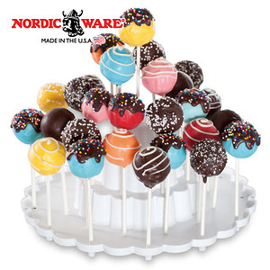 """תבנית קייק פופס עיגולים Nordic Ware ארה""""ב"""