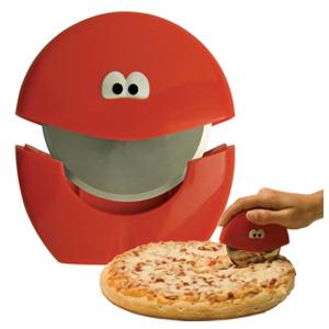 גלגלת פיצה מתגלגלת עם מכסה Jo!e